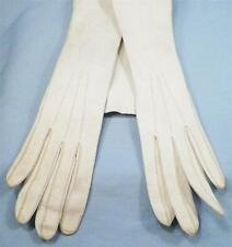 Vintage Kid Gloves Opera Length Small Size 5.5 Evening Costume Pageant AS IS
