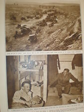 Photo article British army in Bardia Libya 1942