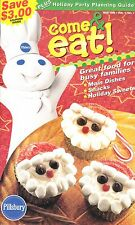 COME & EAT PILLSBURY COOKBOOK NOV. 1999 VOL.1 NO.1 SAUSAGE BRUNCH PIZZA, DESSERT