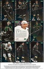 2001-02 Parkhurst by ITG Dallas Stars Regular Team Set (11)
