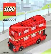 Rare Lego Red Doubledecker Routemaster London Bus 3300006 London Store Opening