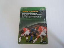 Carte Football Champions 2001/02 - Jouer la montre