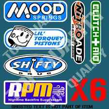 HOT ROD MEGA PACK DECAL STICKER SET MOOD SPRINGS SHIFTY ETC CARS RATROD STICKERS
