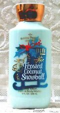 Bath & Body Works ~ FROSTED COCONUT SNOWBALL ~ Shea Body Lotion Full Size 8 oz.