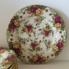 8 Royal Albert ~Old Country Roses~ Classic III Plates NEAR MINT More Avail