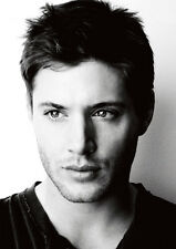 Supernatural Jensen Ackles Sexy BW POSTER