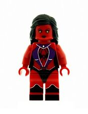 Custom Minifigure Red She Hulk Version 2 Printed on LEGO Parts