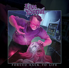 Live Burial - Forced Back To Life (UK), CD (Death Doom Metal from Newcastle!)