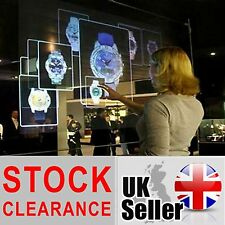1.5m x 1m Self Adhesive Holographic Rear Projection Screen Transparent UK SELLER