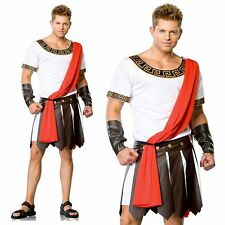 Caesar Roman Emperor Toga Mens Halloween Cosplay Fancy Dress Up Costume One Size