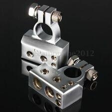 2x Coche Terminal Batería Terminal Polklemme Positivo Negativo 2/4/8 AWG Cable