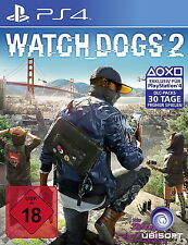 Watch Dogs 2 (Sony PlayStation 4, 2016)
