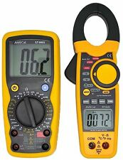 AMECaL ST-3343/9905 Clamp Meter Digital Multimeter Combo Kit