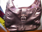 Guaranteed Authentic $398 NWT Coach Soho Leather bronze Hobo handbag F17092