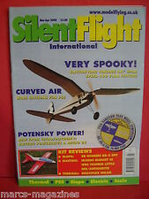SILENT FLIGHT GLIDERS MODEL AIRCRAFT MAR / APR 2000 ELECTRIC SLOW FLIGHT