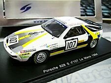 Porsche 928 s v8 racing le mans 1984 #107 boutinaud renault Spark resin 1:43