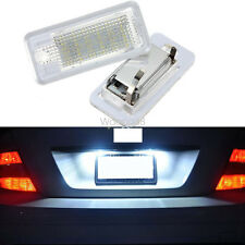 LED License Number Plate Light For Audi A3 S3 A4 A6 A8 Q7 Lamp Replace No Error