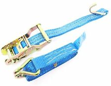 1.5 Tonne x 3m x 25mm Heavy Duty Ratchet Strap Tie Down Lashing Recovery 1500Kgs