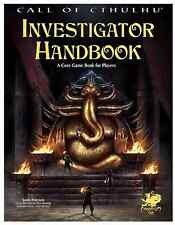 Call of Cthulhu RPG 7th edition Investigator Handbook -  Brand New from Chaosium