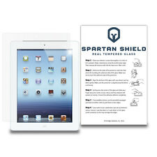 Spartan Shield Tempered Glass Screen Protector For Apple iPad 3rd Gen Tablet