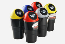 Trash Rubbish Bin Can Garbage Dust Case Holder Mini Home Office Auto Vehicle Car