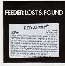 (FG13) Feeder, Lost & Found - 2006 DJ CD