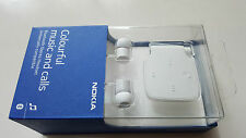 Official Genuine NOKIA BH-111 WIRELESS BLUETOOTH STEREO HEADSET-WHITE
