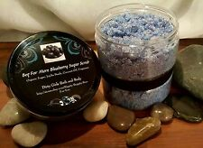 Beg For More Blueberry Organic Sugar Scrub with Jojoba Beads and Coconut Oil 8oz