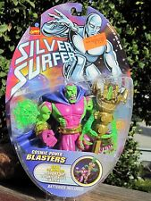 1997 TOY BIZ  Marvel Comics Silver Surfer Drax the Destroyer w/Skull Blaste  MOC