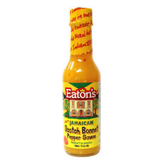 Chilli Sauce - Eaton's Crushed Scotch Bonnet Pepper - from Jamaica. UK Exclusive