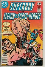 DC Comics Superboy & The Legion Of Super Heroes #240 June 1978 Giant Scarce F+