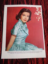 ELISABETH MUELLER - FILM STAR - 1 PAGE  PICTURE- CLIPPING/CUTTING
