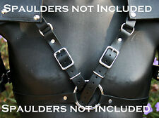 Leather Spaulders Pauldrons Body Harness - Custom made for mine but versatile!