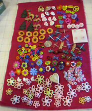 150+ NOVELTY & Assorted Buttons for Sewing Scrapbook & Crafts Childrens Clothing