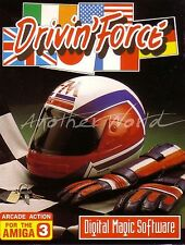 Drivin' Force (Digital Magic) Amiga - (#156)