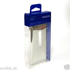 NEW Genuine Nokia Lumia 800 Hard Cover Case CC-3032 Silver Metallic NEW Original