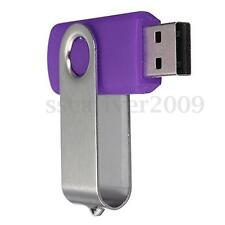 32GB 32G Swivel USB 2.0 Memory Stick Flash Drive Capacity Storage U Disk Purple