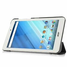 LuvTab ACER ICONIA ONE 8 (b1-850) Tablet 7 Pollici IN FINTA PELLE CASE STAND