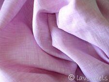 0,5 m Stoff Ökotex Leinen rosa rose feine leichte Qualität Leinenstoff  170 cm B