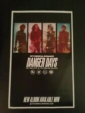My Chemical Romance poster - Danger Days - 11x17 rare and shipped in tube