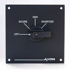 4 Position Switch / Changeover Panel - 20 Amps - Shore / Generator / Inverter