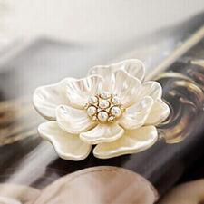 Estilo Vintage 18K Chapado En Oro Flor Broche Joyería Pedida Moda
