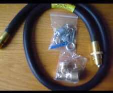 GAS COOKER FITTING KIT- PIPE + CHAIN & HOOK+ CONNECTOR.