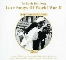 To Each His Own: Love Songs of World War II by Various Artists (CD, Sep-2007,...