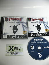 Psx Thrasher Skate and destroy Pal UK Completo buen estado  Ps Ps2 Ps3
