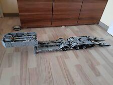 Bauanleitung instruction Tieflader Auflieger le Eigenbau Unikat Moc Lego Technic