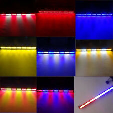 28 LED Traffic Advisor Emergency Flash Strobe Warning Light Bar Amber/Red/Blue