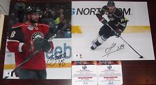 Lot of 2 Minnesota Wild Signed 8x10 PhotoS Guillaume Latendresse Martin Havlat