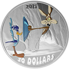2015 Canada $30 Fast and Furry-ous, Looney Toons TM Classic Scenes - 2oz Silver