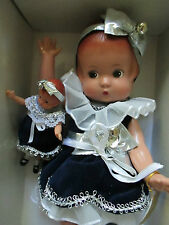 "EFFANBEE HOLIDAY PATSY DOLL & HER DOLL CLASSICS V613 12.5"" NIB-ADORABLE!"